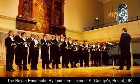 Boyan Choir Tour